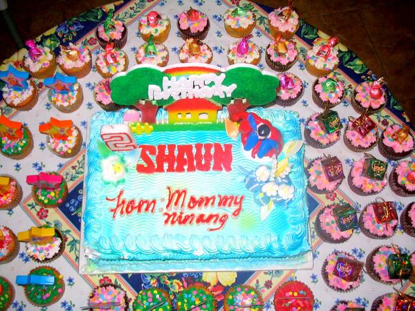 Happy Birthday Shaun Cake