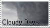 Cloudy Days | f2u stamp by SinnamonWade