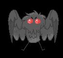 Mini Mothman   f2u pixel art by SinnamonWade