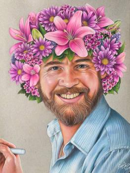 Floral Bob Ross