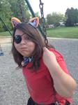 Me as Foxy 4 by samibvb96