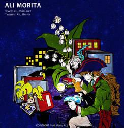 Desk town by ali-morita