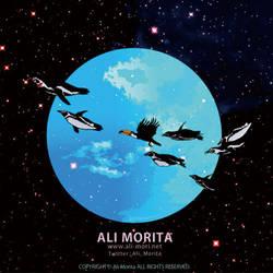 Flying penguin by ali-morita