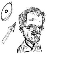 Larry Niven Caricature by kinow