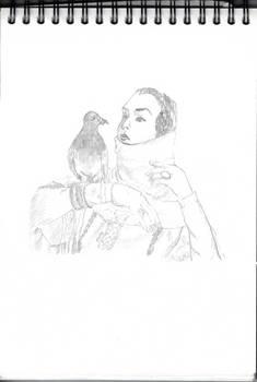Pidgeon and Lady