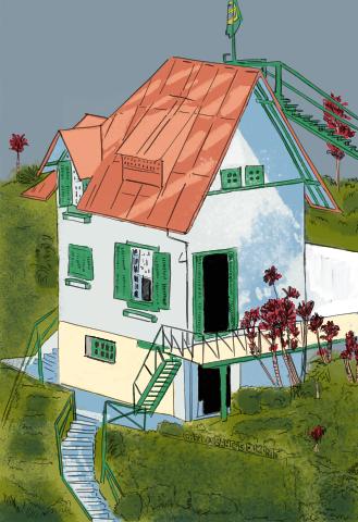 Santos Dumont's A Encantada house by kinow