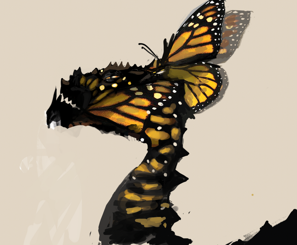 Monarch Butterfly Imitator by Shynzo-Nai