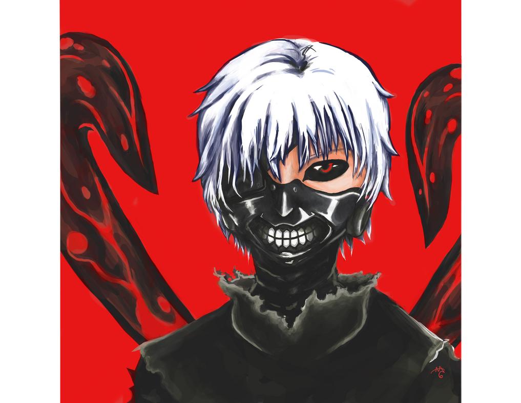 Tokyo Ghoul by AAOlsonDesign