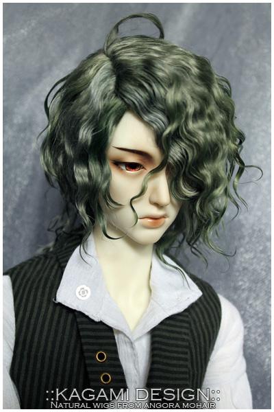 Commission bjd wig by Kimirra-bjd