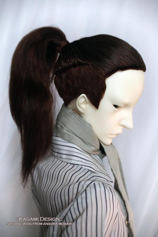how to make a bjd wig