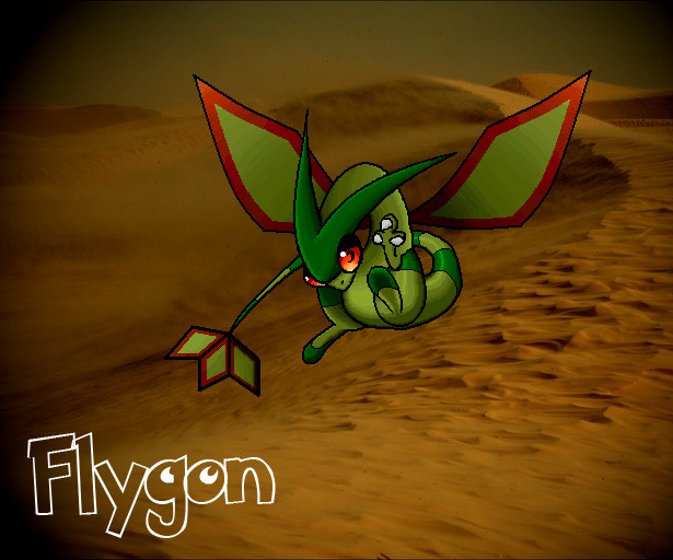 Flygon Wallpaper by Omegathree on deviantART