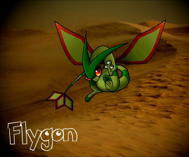 Flygon Wallpaper by Omegathree on deviantART
