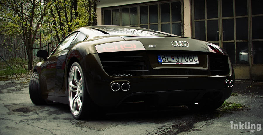 Audi R8 by mutantlegion