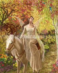Season's Change Series #3: Autumn Beauty by starlightmagician