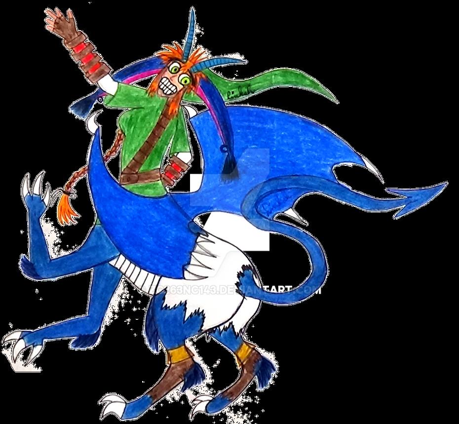 Dragon-Taur Linkah by zc263nc143