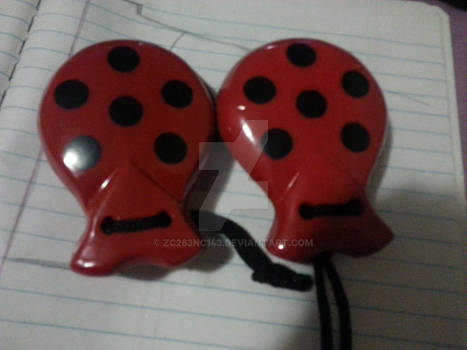 A pair of castanets
