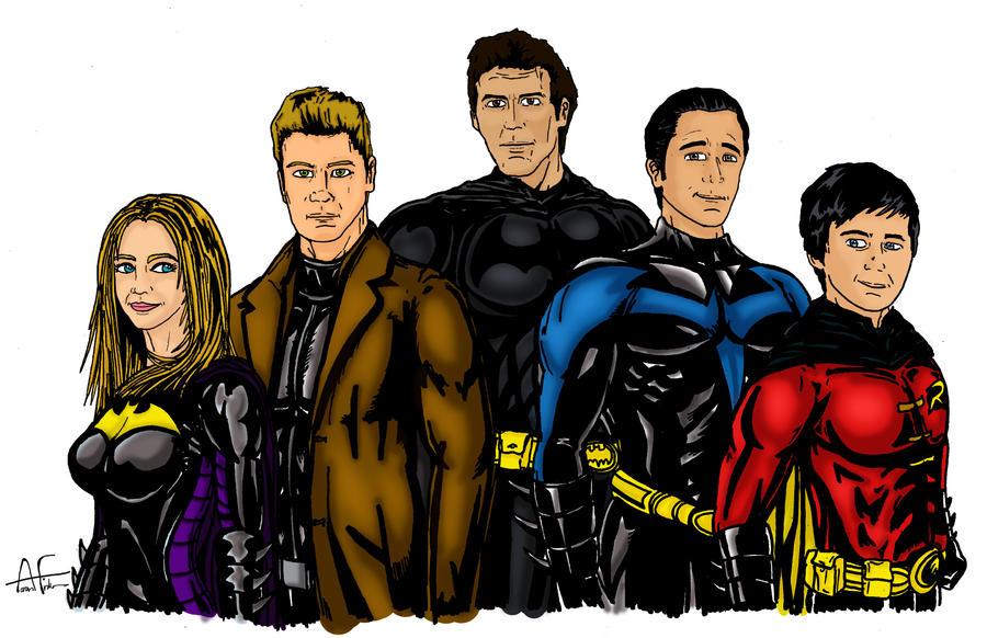 The Bat Family by Stone-Fever on DeviantArt Joseph Gordon Levitt Nightwing