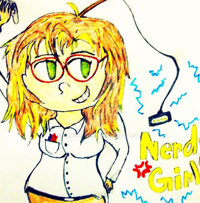 im feeling nerdy all day every day
