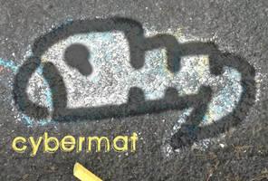 chalk work ~ Cybermat