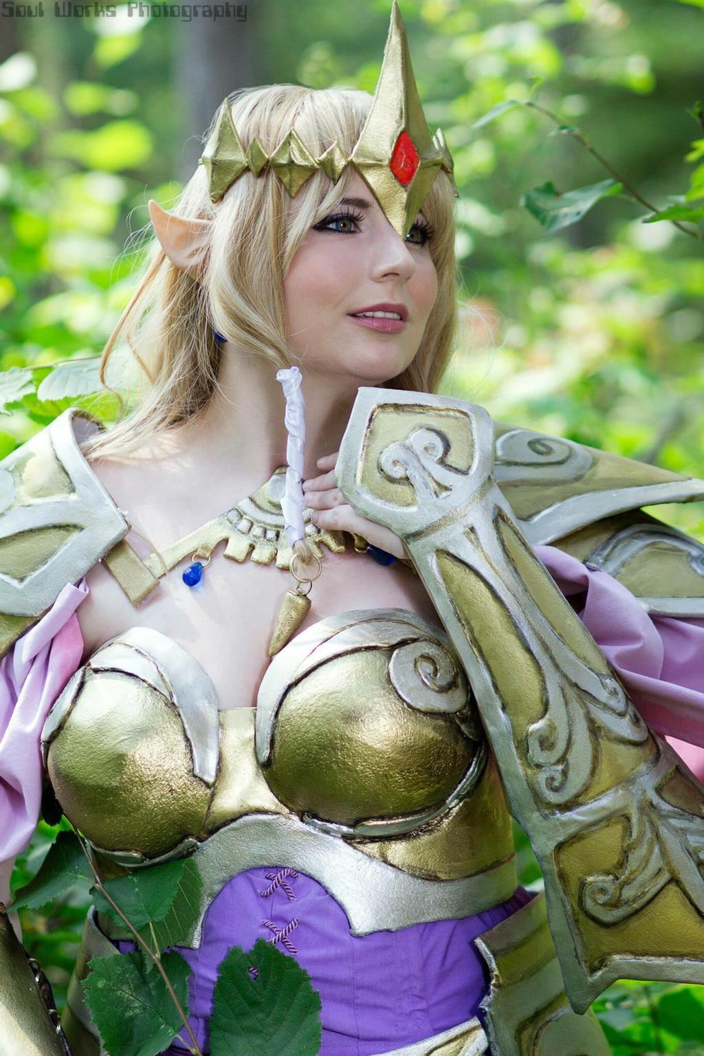 Zelda from Hyrule Warriors