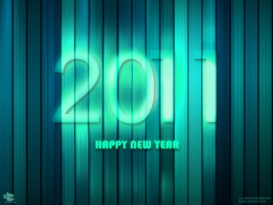 2011 New year by injured-eye