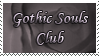 Gothic Souls Club Stamp by GothicSoulsClub