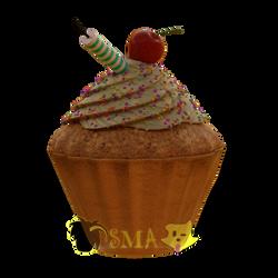 Semi-realistic Cupcake
