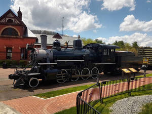 1920 Baldwin Steam Locomotive