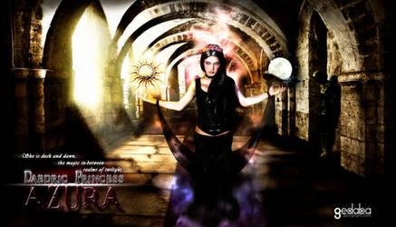 Meet AZURA from The Elder Scrolls by gedaba