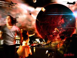 Mars Attacks by gedaba