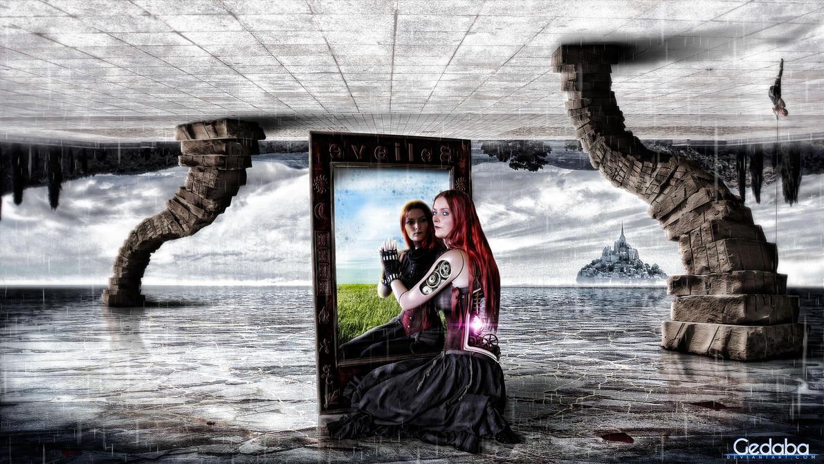 Duality of Souls [rorrim eht dniheb] by gedaba