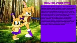 Chaos Emeralds Arc: Bunnie Corlette Bio Card
