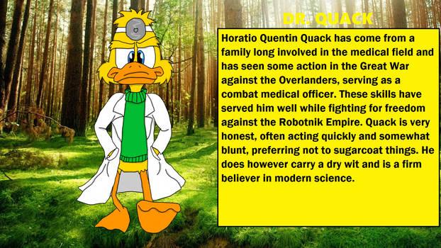 Chaos Emeralds Arc: Dr Quack Bio