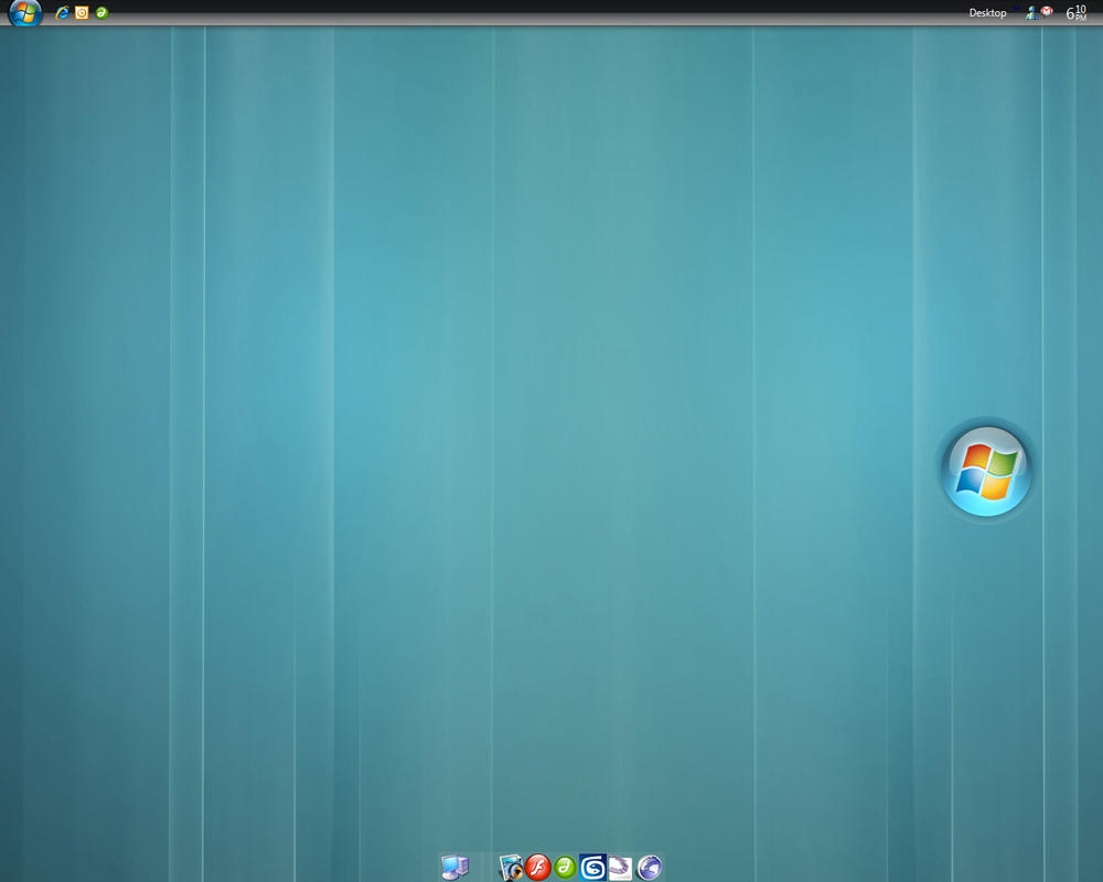 Clean Vista Desktop by tinkupuri