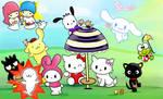 Sanrio Characters Groupie