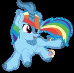 Rainbow Dash Kirin