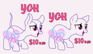 YCH for Kirins and Ponies