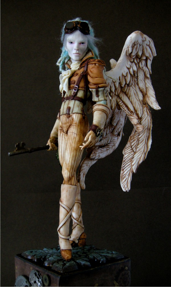 Steampunk Angel - Sky Ranger 3 by wingdthing