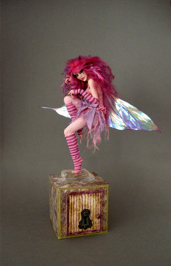 Cheshire Cat Faerie No. 2 - 2 by wingdthing