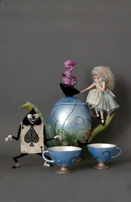 ALICE IN WONDERLAND TEA SET 1