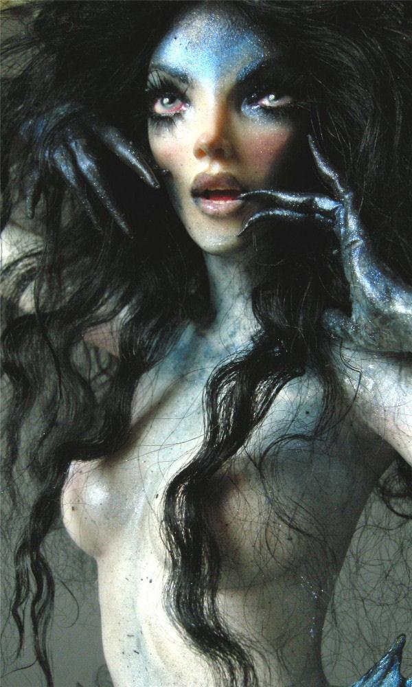 Dark Water Mermaid 4 by wingdthing