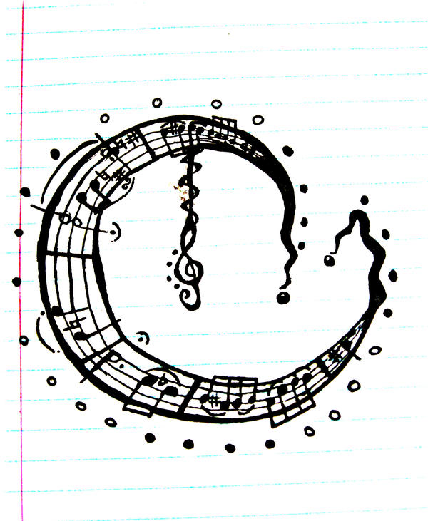 Music Moon Tattoo by ~SqueezyCheezeJezus on deviantART