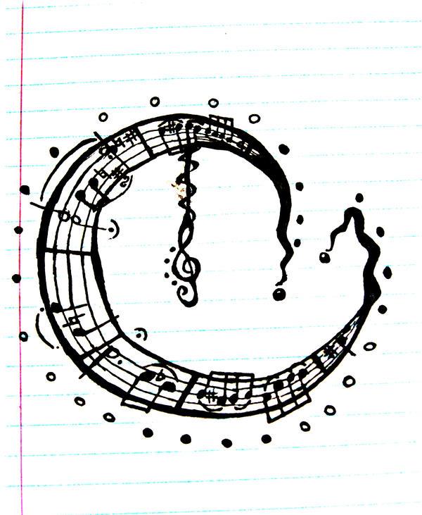 Music Moon Tattoo By SqueezyCheezeJezus On DeviantArt