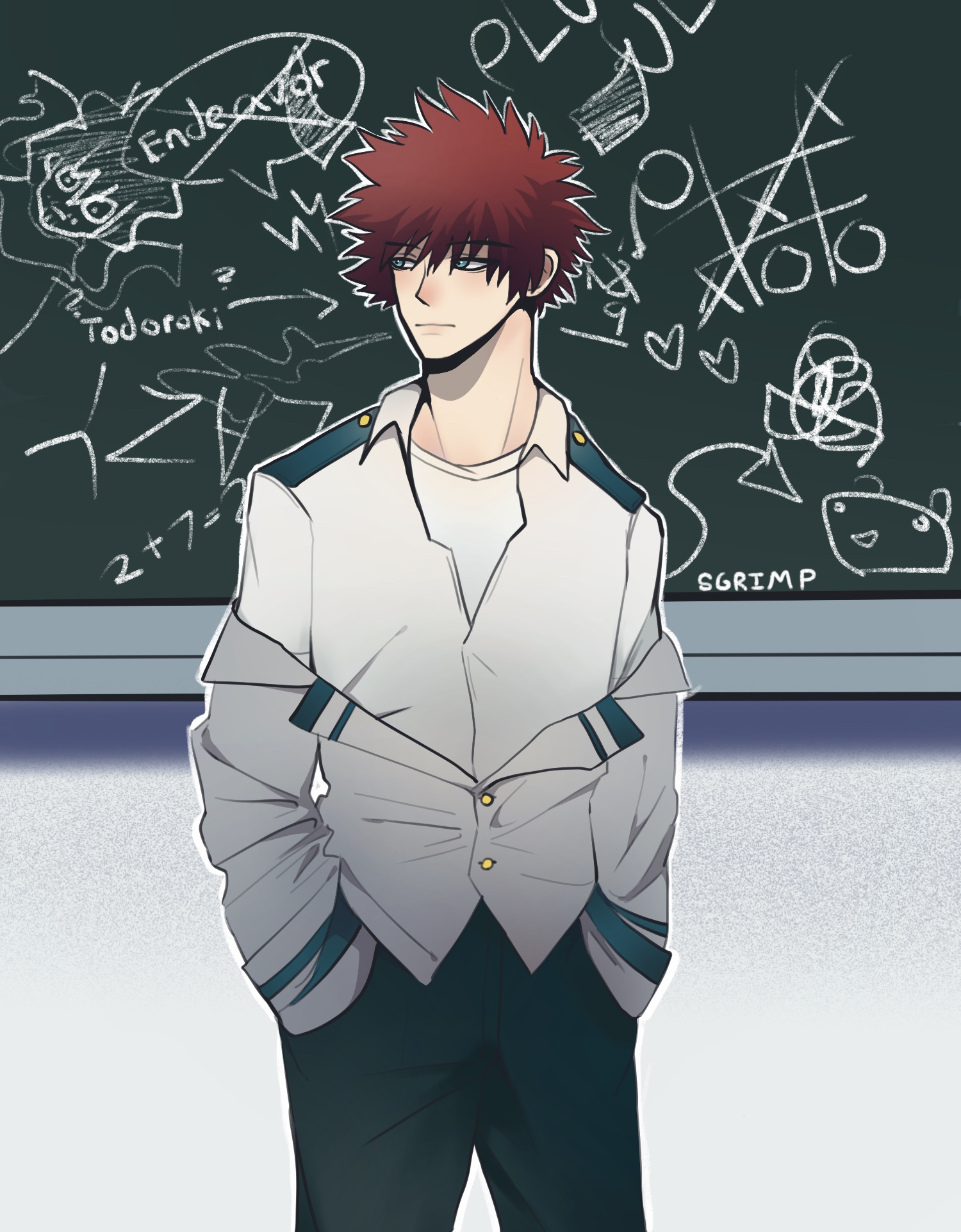 Dabi Touya Todoroki Hero Au Mha Fanart By Sgrimp On Deviantart