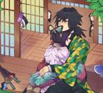 Shinobu Kochou x Giyuu Tomioka (Kimetsu no Yaiba)