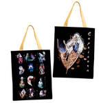 Capricorn Zodiac Sign Mermaid Tote Bag by Fiolettakk2