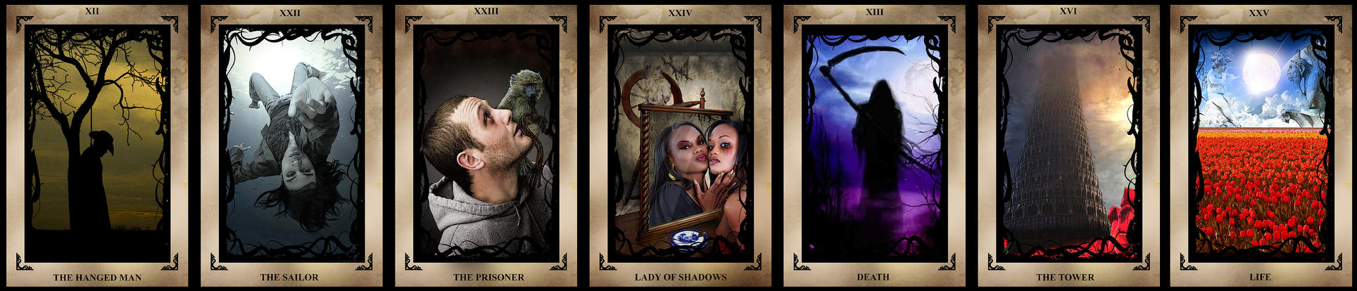 The Dark Tower Tarot Cards by RavenMedia