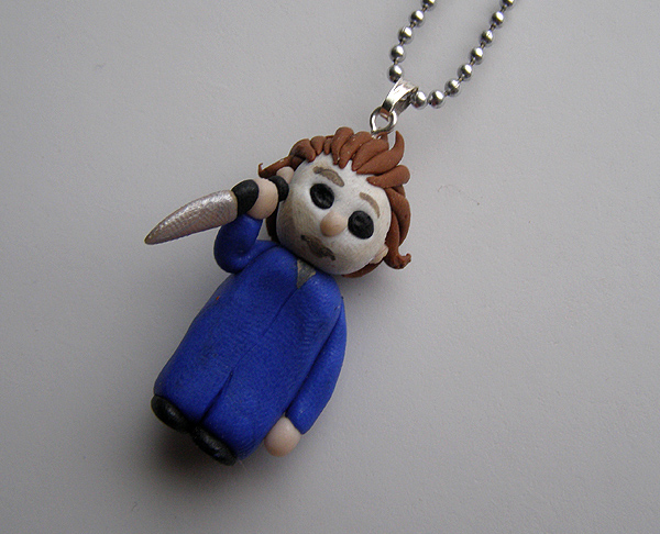 Michael Myers - Halloween Custom Necklace by RavenMedia