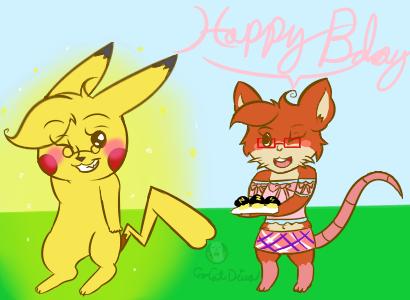 Happy birthday Yay by CooCatDiva