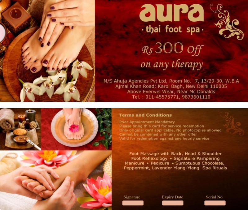 Aura Thai Spa Voucher Design by rahultathastu on DeviantArt – Voucher Designs